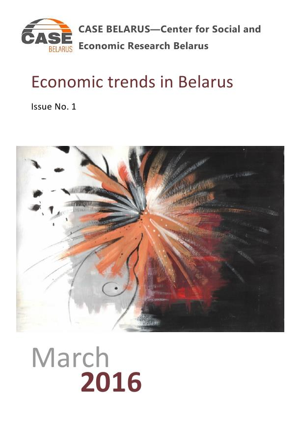 Economic trends in Belarus
